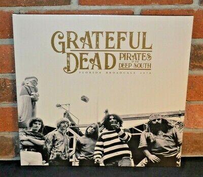 GRATEFUL DEAD - Pirates Of The Deep South 1970, Ltd Import 2LP BLACK VINYL New!