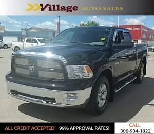2012 RAM 1500 SLT Outdoorsman, Back-Up Camera, Navigation, Bl...