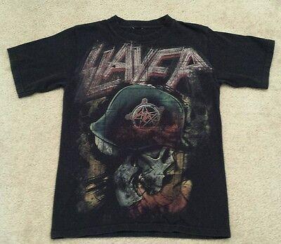 RARE! Vintage SLAYER t-shirt thrash metal rock tee t shirt
