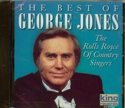 GEORGE JONES - THE BEST OF - THE ROLLS ROYCE OF COUNTRY SINGERS - CD - (The Best Rolls Royce)