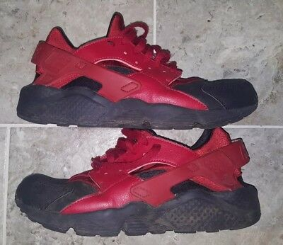 Nike Air Huarache Run PRM Mens Size US10.5 ONLY ONE ON EBAY PREOWNED! 704830-006