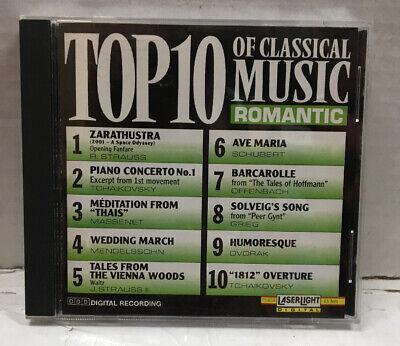 Top 10 Of Classical Music Romantic CD  Top 10 Classic Music