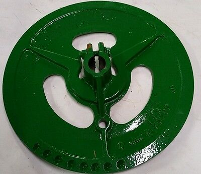 John Deere New Oem Combine Fan Drive Sheave Pulley Part H132298 Sub Ah134873