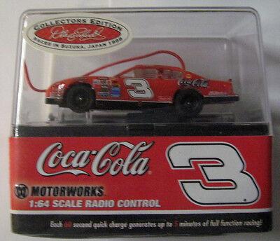 1 NEW 49 MHZ DALE EARNHARDT SR. # 3 COCA-COLA NASCAR 1:64 RADIO CONTROL CAR