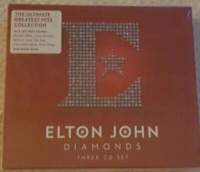 CD Album Elton John -  Diamonds: The Greatest Hits Box Set (3CD) NEW