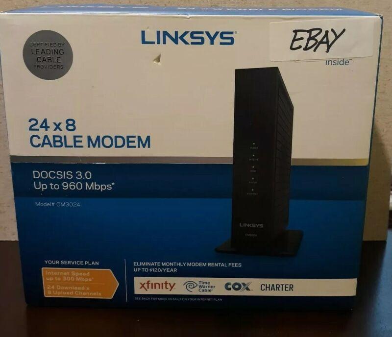Linksys DOCSIS 3.0 Cable Modem CM3024