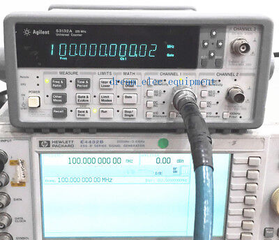 Hpagilent 53132a Opt010030 Universal Frequency Counter