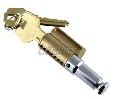 Puck Lock Cylinder Complete Combinated Core And Shackle With 2 Keys Kd