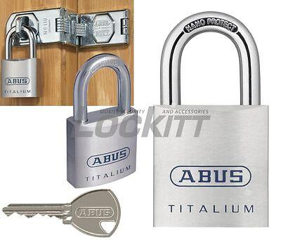 Abus 80ti50 Titalium Marine Grade Padlock 10mm 38 Shackle