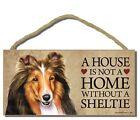 Sheltie/Shetland Sheepdog Signs & Plaques