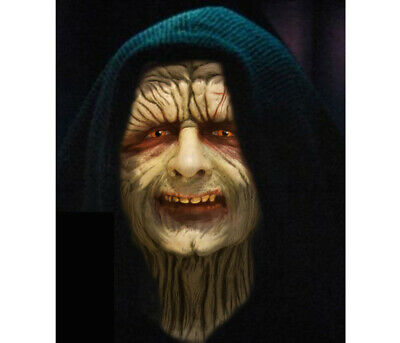 Life Size EMPEROR PALPATINE Star Wars head prop