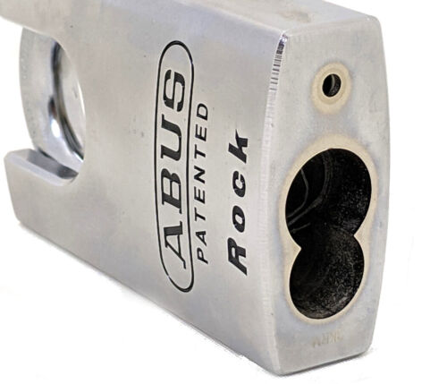ABUS 83CS/55 Rock Padlock - Without Cylinder - Protected Shackle