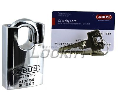 Abus 83cs55 Padlock Vitess High Security Made In Germany Keyed Different