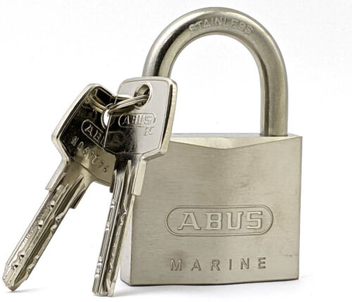 ABUS 75IB/50 All Weather Marine Grade Padlock - Brass and Stainless Steel