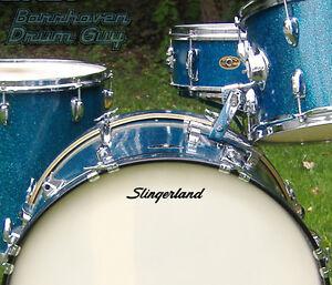 slingerland drum head ebay. Black Bedroom Furniture Sets. Home Design Ideas