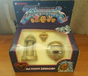 MIB, NEVER OPENED, BANDAI Die cast Terrahawks Sergeant Major Zero. 1983