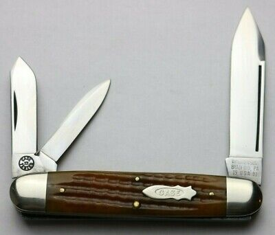 CASE CLASSIC CIGAR WHITTLER KNIFE - TAN BONE - FACTORY SAMPLE - 1 of 5