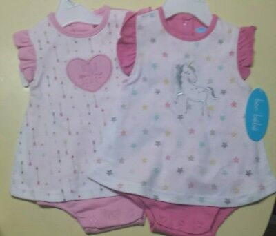 Bon Bebe Body (Baby Clothing BON BEBE 1-piece OUTFIT Creeper Body Suit 3/6  6/9 Months NWT)