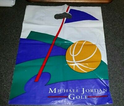 "Rare 90's Vintage Michael Jordan Golf Store Sales Bag 8"" x 12"""