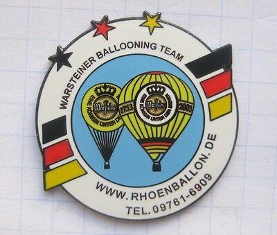 RHOEHNBALLON.de  / WARSTEINER BALLOONING TEAM  ... Bier-Ballon-Pin (125g)