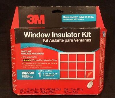 3m Indoor Window Insulator Kit Oversized Window - 2149w-6