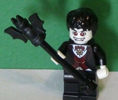 Lego Minifigure - VAMPIRE - Series 2 - COL021 - HAPPY HALLOWEEN