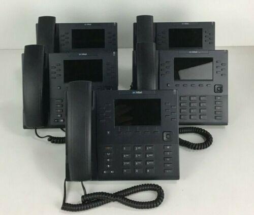 LOT OF 5x MITEL 6869i IP Phone 6869i SIP Phone (80C00003AAA-A) 12 line Phone