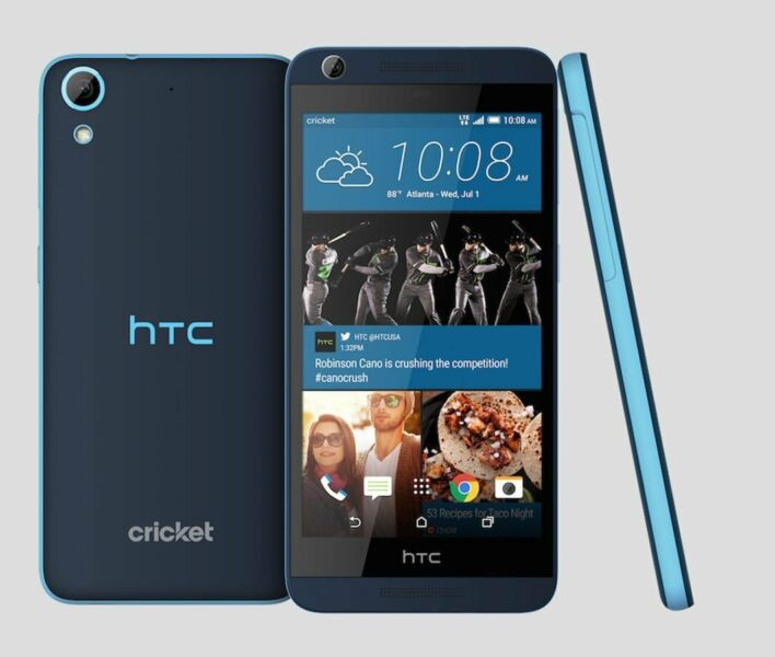 HTC OPM9110 Desire 626s LTE Smart Phone, Black / Meta Gray 1