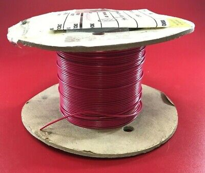 Awc Bn20-19 Mil Spec M16878-17-bge2 50ft Spool 20awg Red Circuit Lead
