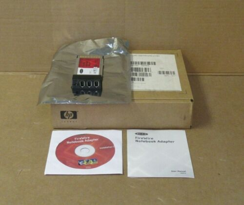 HP DD797A Firewire IEEE1394 Cardbus 3 Port Notebook Adapter PC Card