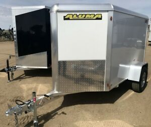 2018 Aluma Ltd. AE58  Enclosed Cargo Trailer