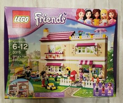 LEGO Friends Olivia's House 3315 Brand New Factory SEALED