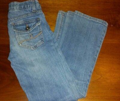 Ruff Hewn  Kids Youth  Girls BOOT CUT Jeans 8 Regular SUPER CUTE