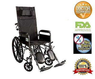 Reclining Back Wheelchair (Recliner Back 18