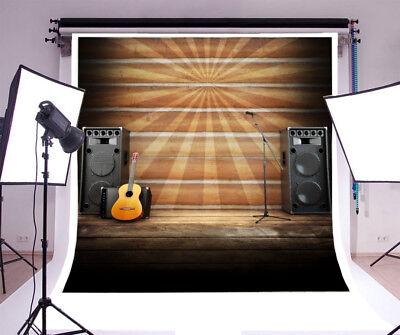 Vinyl Beam Rock Music Show Backdrop Prom Background 6x6 Studio Photography - Prom Background