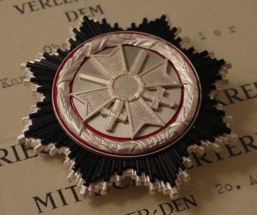 GERMAN MEDAL - BUNDESREPUBLIK GERMAN CROSS IN SILVER - 1957 PATTERN