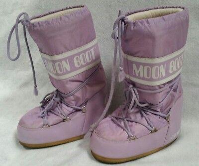 Tecnica Moon Boot Women Us 35 38 Lavender Purple Winter Snow Boot Size 5 Womens