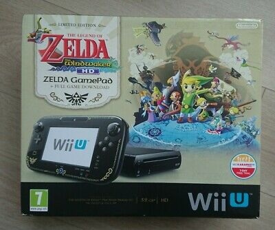 Nintendo Wii U Console The Legend Of Zelda The Windwaker Edition