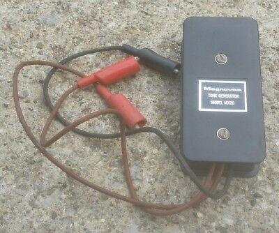 Magnavox Tone Generator Mx2c Tester Electronic Electrical Tool Vintage Antique