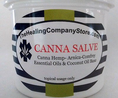Cannabis Sativa Canna Salve Hemp Pain Relief Salve 2 Oz