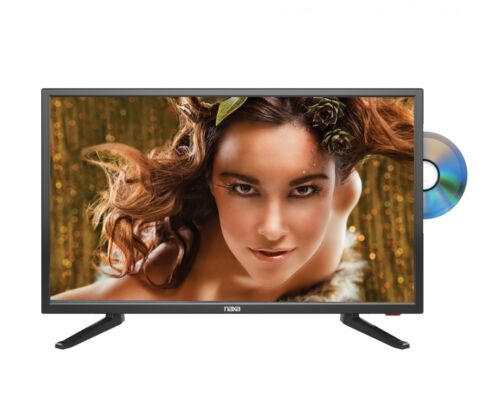 """24"""" Naxa 12 Volt AC/DC LED HDTV with DVD and Media Player + Car Package"""