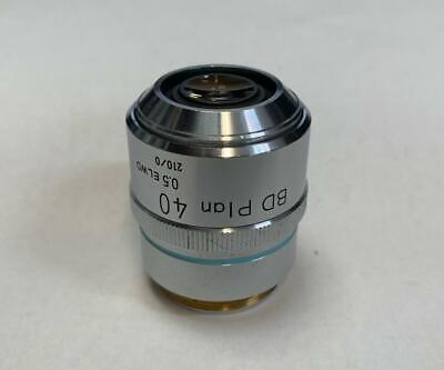 Nikon Bd Plan 40x Elwd Microscope Objective Lens 210mm Extra Long Working Dist