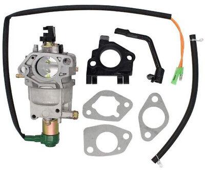 Manual Choke Carburetor Carb W Gasket - Champion 6000 7000 Watt 389cc Generator