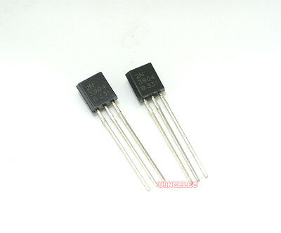 2n3904 Npn And 2n3906 Pnp Transistor Assortment 50 Each
