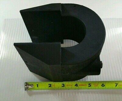 Huge Alnico Horseshoe Magnet Pre - Neodymium Varian Magnetron Assembly