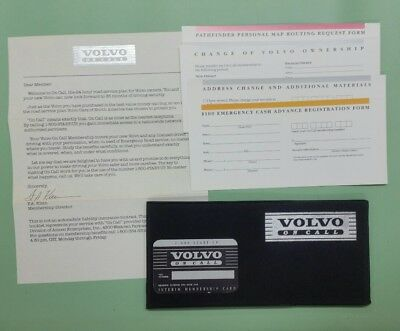 1980 Volvo (1980's Volvo On Call owner's kit/manual)