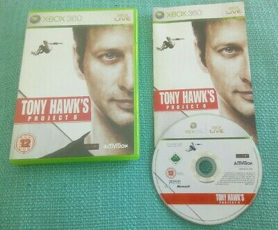 Tony Hawk's Project 8 Xbox 360 Game Complete with Manual