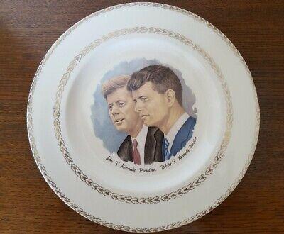 John f Kennedy & Robert f Kennedy Wall Plate. Vintage Retro Genuine Original
