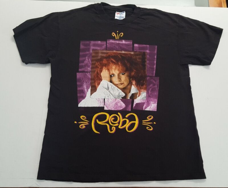 Vintage 1994 Reba McEntire Double Sided Concert Tour T-shirt Single Stitch Large