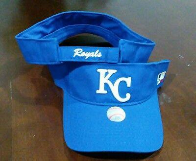 New Adult MLB Kansas City Royals Sun Visor Cap Hat -PMJS - Kansas City Royals Hats
